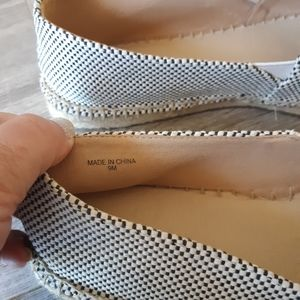 Talbots Shoes - Talbots espadrille slide loafers size 9